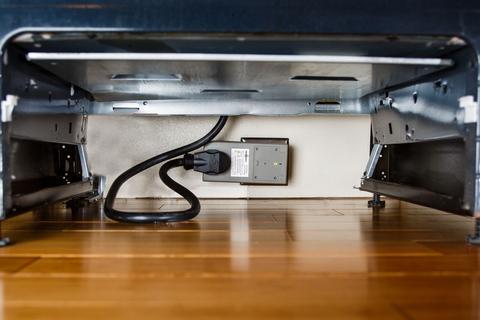 how fireavert under drawer looks like