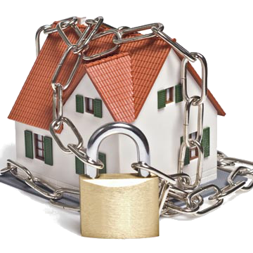 locked home