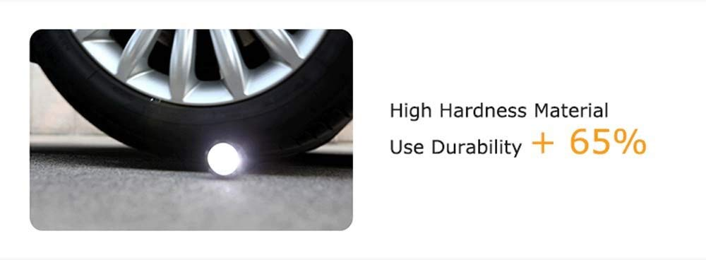 flashlight tire cannot be crashed