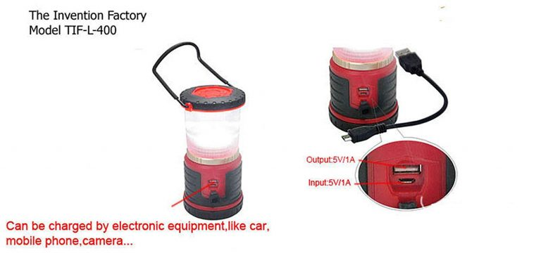 how to charge Rechargeable Long Lasting LED Lantern Very Bright!