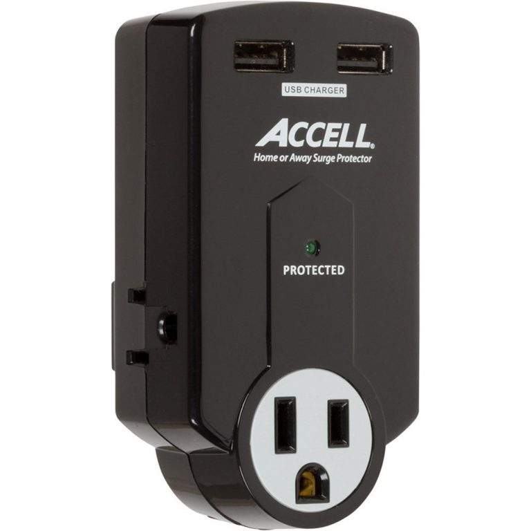 accell outlet surge protector