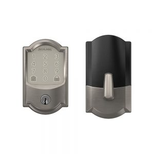 Schlage encode smart WiFi deadbolt with camelot