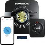 smart garage door opener works from mobile device