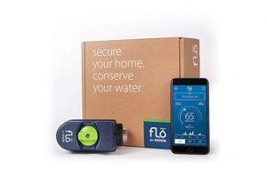 Flo by Moen leak detector box