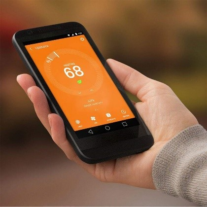 nets smart thermostat mobile app